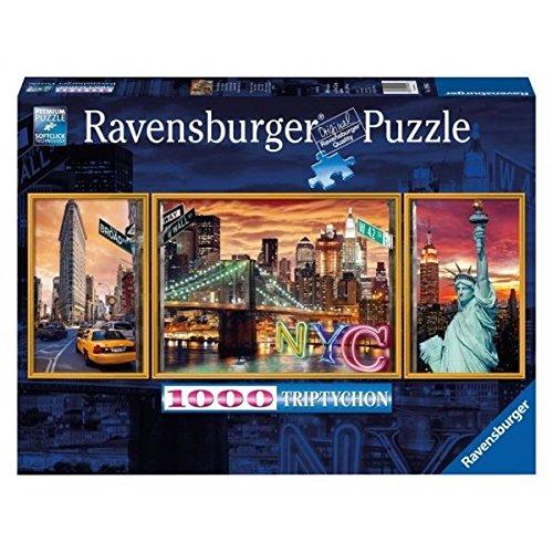 Ravensburger Sparkling New York Triptychon 1000 Piece Puzzle