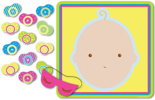 baby shower pin the pacifier game images