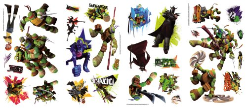 Teenage Mutant Ninja Turtles Wall Decals