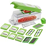 Nubela Capital Multi Purpose Fruit & Vegetable Chipser, Dicer, Peeler, Cutter, Chopper And Grater(15 In 1) ( Colour May Vary )