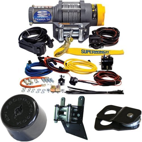 3500lbs-Winch-Bundle-with-ATV-Mounting-Kit-for-Honda
