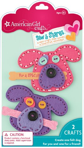 American Girl Crafts Sew and Shares, Dogs - 1