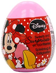 Bon Bon Buddies Minnie Mouse Surprise Egg 10 g (Pack of 6)