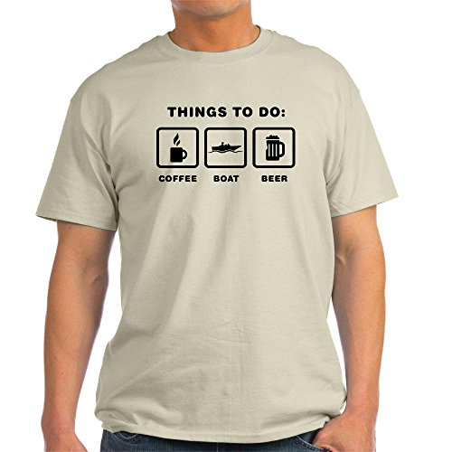 CafePress-Unique-Design-Tee-Boating-Light-T-Shirt-XL
