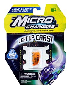 Micro Chargers Micro Chargers Light Racers Booster Pack, Colors May Vary