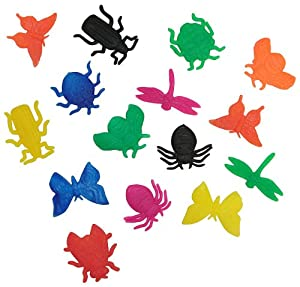 48 Assorted Grow-An-Insect Toy Figures