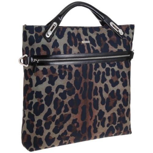 [アビィ・ニューヨーク] Leopard Suede NS Shopper B6001M Mombasa (レオパード)