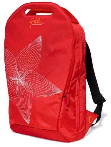 "Golla Golla Const 16"" Laptop Backpack (Red)"