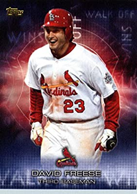 2016 Topps Walk Off Winners #WOW-5 David Freese St. Louis Cardinals Baseball Card-MINT
