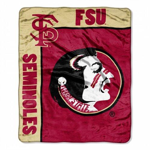 """Florida State """"School Spirit"""" 50""""X60"""" Raschel Throw"""