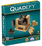 Quadefy-3-dimensional, 2-player Game with the objective to make the opponent play their game piece 'out of bounds'