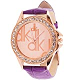 EfashionUp dk gold dial watch for Women-216