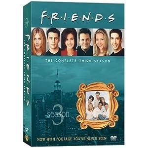 Friends (DVD) The Complete Third Season [Region code : 3]
