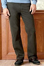 Blue Harbour Luxury Cotton Rich Straight Leg Trousers [T17-1311B-S]