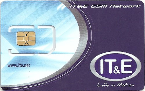 グアム・サイパン用ITE プリペイドSIMカード 通話料$10込み 現地通話し放題プラン対応