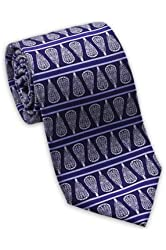 Lacrosse Sticks Men's Silk Necktie