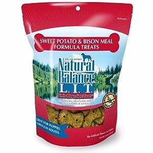 Natural Balance Allergy Formula L.I.T. Limited Ingredient Treats Sweet Potato & Bison 8 oz for Dogs