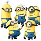 Eplayer® Despicable Me Minion Wall Decal Sticker for home bedroom decor corp office wall saying mural wallpaper birthday gift for boys and girls And For Nursery