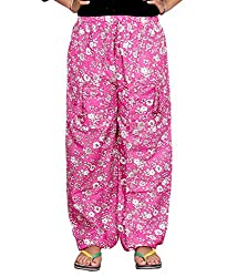 Bright & Shining Women Pink Cotton Pyjama