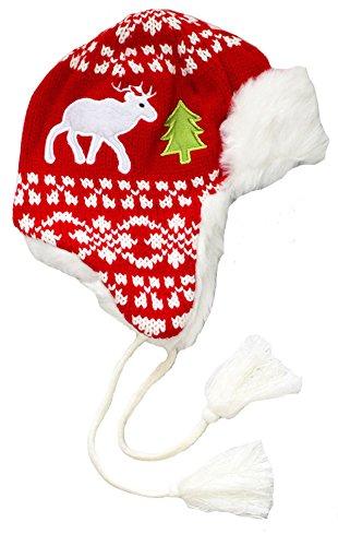 Holiday Reindeer Hat