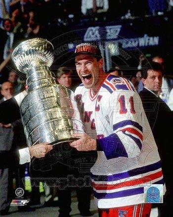 Photofile Pfsaaja00501 Mark Messier 1993-94 Stanley Cup Celebration Photo Print -8.00 X 10.00 PFSAAJA00501