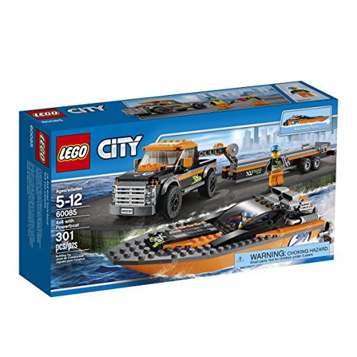 LEGO City Great Vehicles with Powerboat (Lego Trucks With Trailer compare prices)