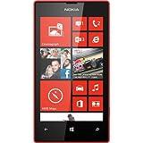 Nokia Lumia 520 8GB Unlocked GSM Windows 8 OS Cell Phone - Red