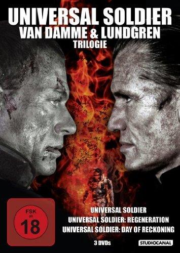 Universal Soldier - Van Damme und Lundgren Trilogie [3 DVDs]