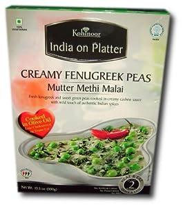 Kohinoor Mutter Methi Malai (Creamy Fenugreek Peas)