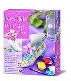 4M Paint Your Own Porcelain Mini Shoe Vase by ToyMarket