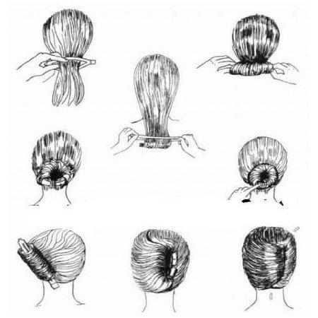SODIAL(TM) Gadget pour enrouler les cheveux pour modeler la coiffure