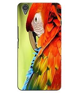 EU4IA Parrot Pattern MATTE FINISH 3D Back Cover Case For ONE PLUS X - D427