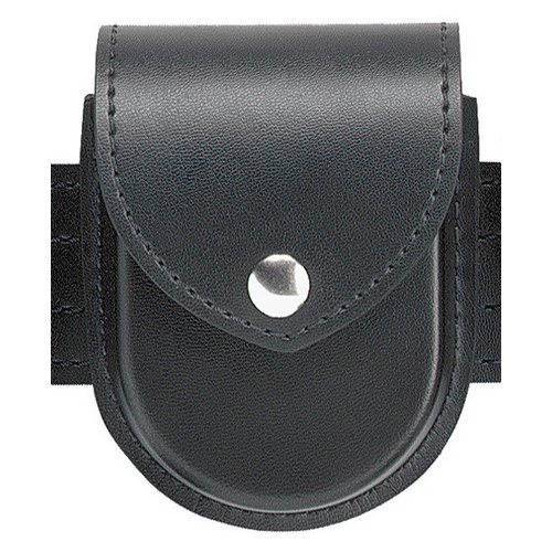 Safariland Duty Gear Chrome Snap Flap Top Double Handcuff Pouch Basketweave BlackB0000C53TJ