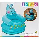 Aaryan Enterprise Intex Premium Inflatable Beanless Sofa Chair For Kids 60 Kg