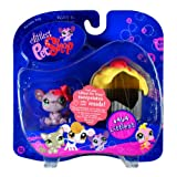 Littlest Pet Shop: Pairs And Portables - Mouse With Cupcake