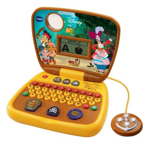 Imagen de VTech Jake y los Piratas de Nunca Jamás Tesoro Laptop caza Aprendizaje