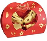 Lindt kissing gold bunnies