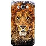 For Samsung Galaxy On8 Dangerous Lion ( Dangerous Lion, Lion, Cute Lion, Brown Lion ) Printed Designer Back Case Cover By FashionCops