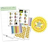Get Ready For Elementary School With My Growing Up Reward Chart (4yrs+) - Helps Kids To Prepare For