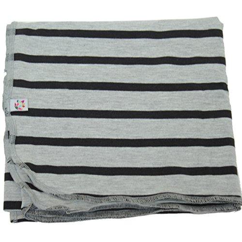 Steele Stripe Cocoon Swaddling Blanket