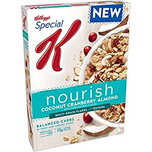 Special K Nourish Cereal, Coconut Cranberry Almond, 14 Ounce
