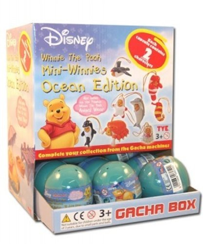Universal Cards TM992 Gacha-Disney Disney Winnie Puuh Tierverkleidung Ocean Edition [8052]
