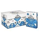 - Spectrum Standard 92 Multipurpose Paper, 20lb, 8 1/2 x 11, White, 5000 Shts/Ctn