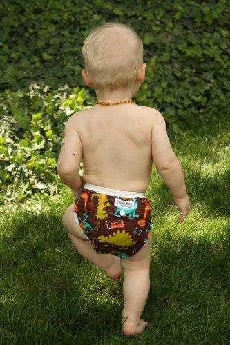 Snuggy Baby AI2 Diaper Cover - Dino Dudes