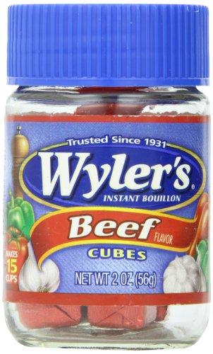 Wyler's Bouillon, Instant, Beef Flavor, Cubes | KetoDB