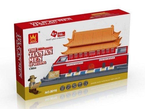 Imagen de El Tian An Men de Pekín China BLOQUES HUECOS 758 PC fijó en caja de regalo enorme! Piezas de LEGO compatibles! Gran serie del mundo de la arquitectura