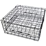 "KUFA Heavy Duty Vinyl Coated Crab Trap 28""x28""x12"" (S70)"