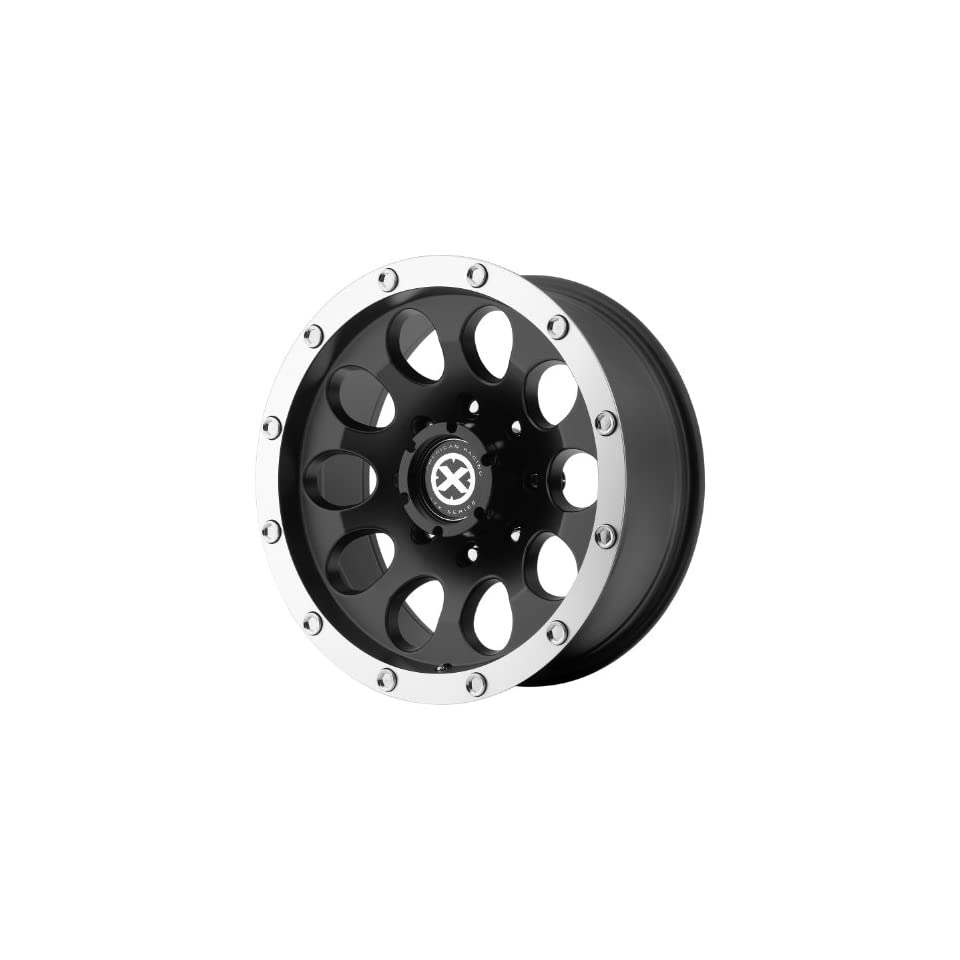 American Racing ATX Slot 15x10 Black Wheel / Rim 5x5.5 with a  44mm Offset and a 108.00 Hub Bore. Partnumber AX18651055744N