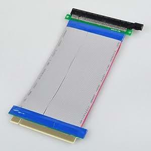 BestDealUSA PCI-Express PCI-E 16X Slots Riser Card Extender Ribbon Cable