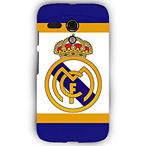 EYP Real Madrid Back Cover Case for Moto G (1st Gen)